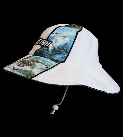 bigfish estuary hat left