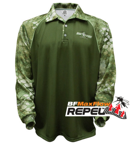REPEL - CAMOSCALE ASSAULT GREEN (Repels Insects)